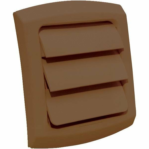 Dryer Vent Cover Louvered Fits 4 Quot Vent Pipe Brown