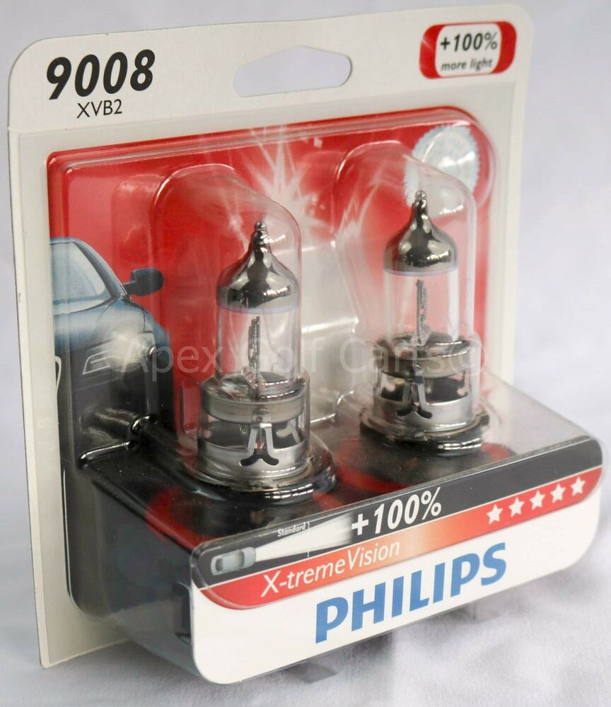 philips 9008 h13 x treme vision headlight bulb upgrade. Black Bedroom Furniture Sets. Home Design Ideas