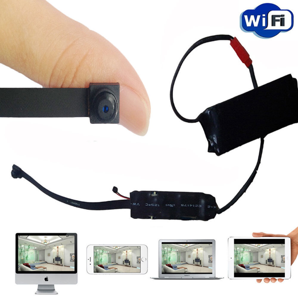 diy wireless wifi module hidden spy camera dvr recoder for android iphone pc ios ebay. Black Bedroom Furniture Sets. Home Design Ideas