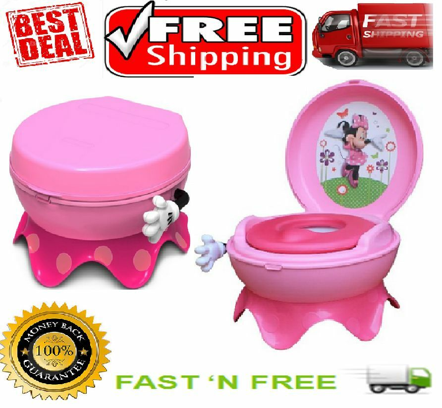 Kids First Years Toilet Minnie Mouse Potty System Chair