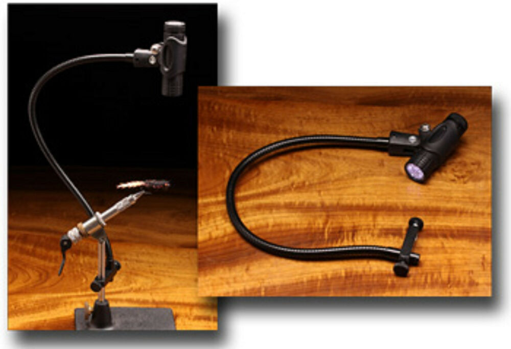 Zephr Portable Led Fly Tying Light Attaches To Vise Fly