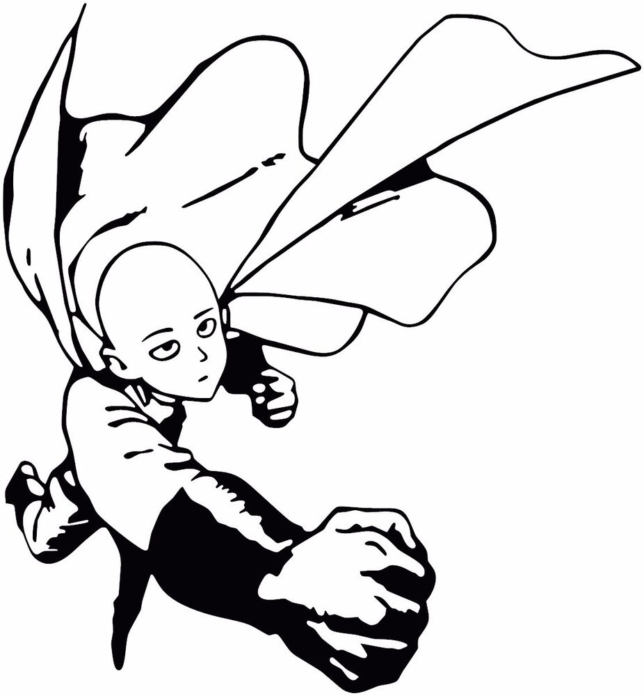 Saitama Onepunch Man Coloring Pages Coloring Pages