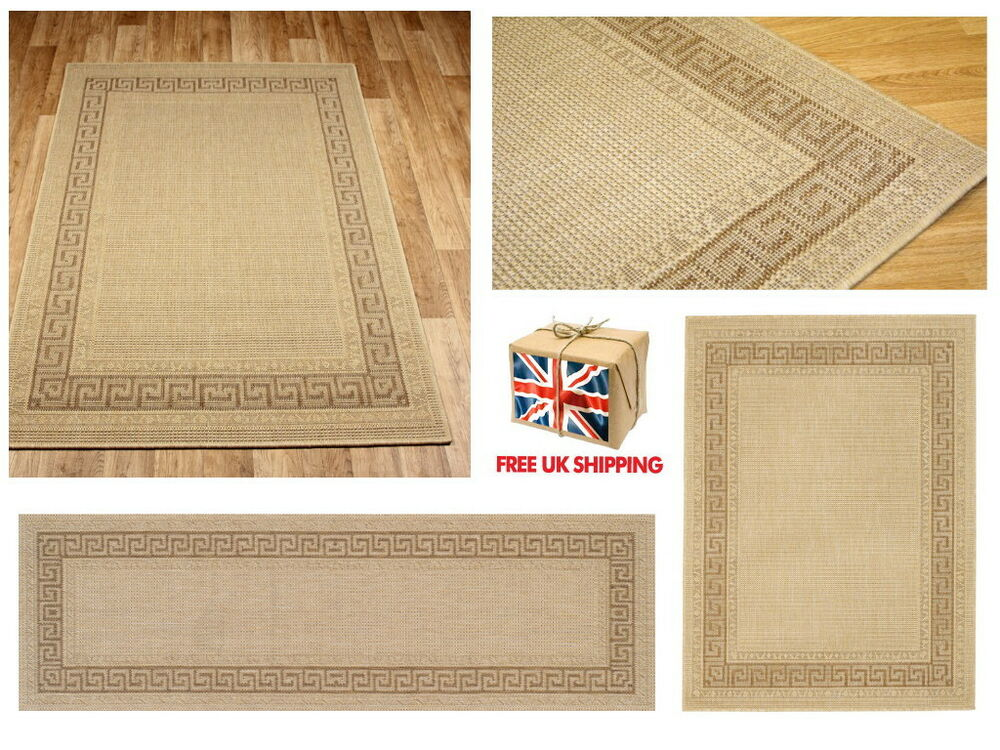 greek key flatweave utility mats kitchen rugs hall runners