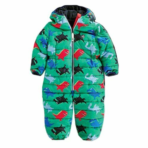 55294d7f1 Dinosaur Print All-In-One Snowsuit - NEXT UK - 12-18M