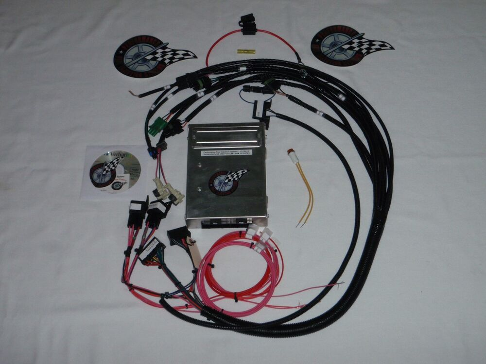 fuel injection wiring harness tbi harness w ecm sbc tbi engine ebay