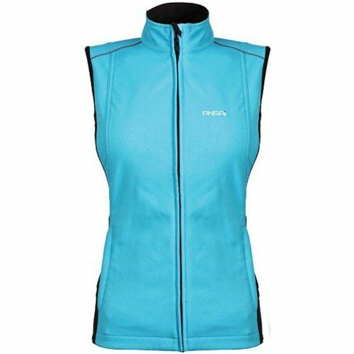 Womens Heated Clothing >> Womens Ansai Mobile Warming Cypress Jackii Battery Heated Electric Vest Lt. Blue | eBay