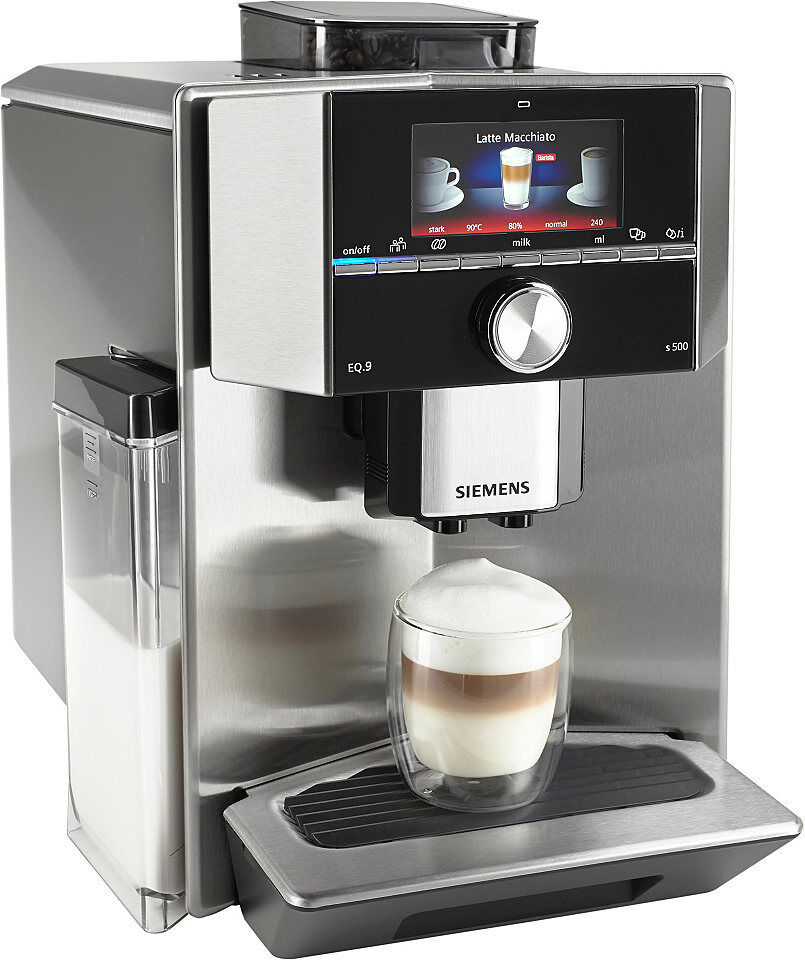 Siemens Espresso Machine Eq 9 Ti905501de Fully Automatic
