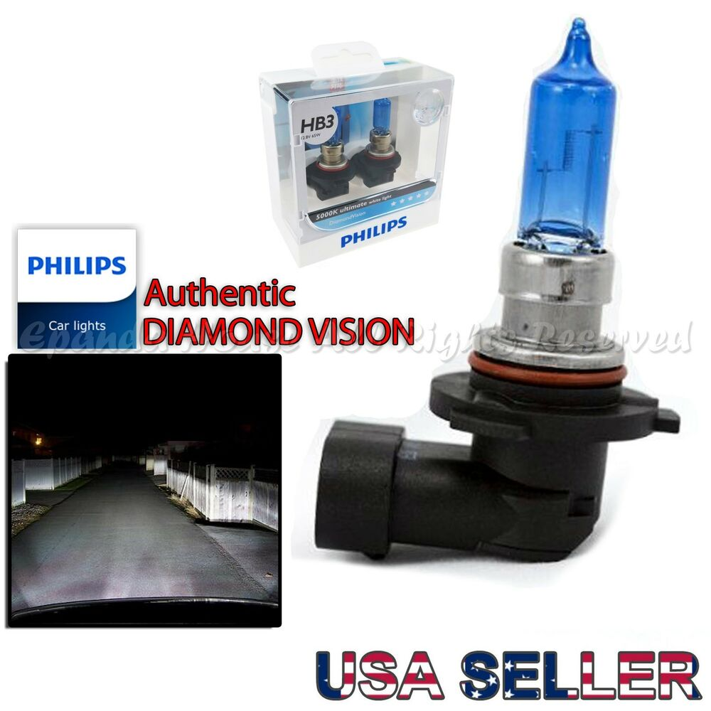 9005 hb3 philips genuine diamond vision 5000k high beam. Black Bedroom Furniture Sets. Home Design Ideas