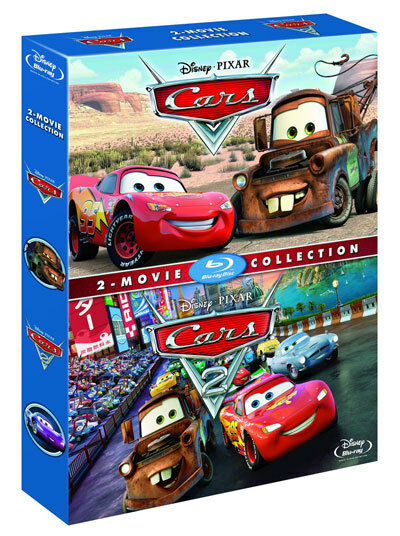 Cars 1 2 blu ray box set 2 movie collection disney for 2 1 2 box auto