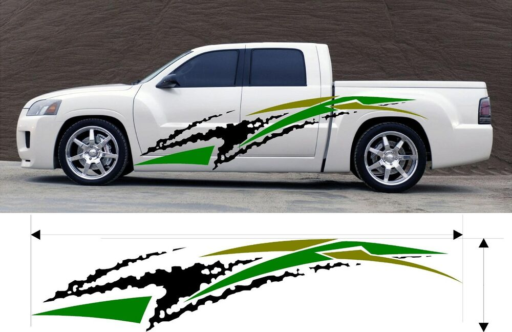 Custom Car Decals: VINYL GRAPHIC DECAL CAR TRUCK BOAT KIT CUSTOM SIZE COLOR
