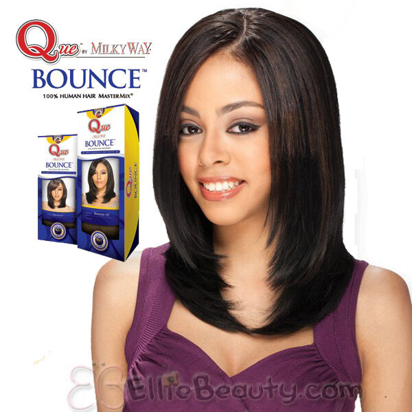 Milky Way Que 100 Human Hair Mastermix Q Bounce Weave Ebay