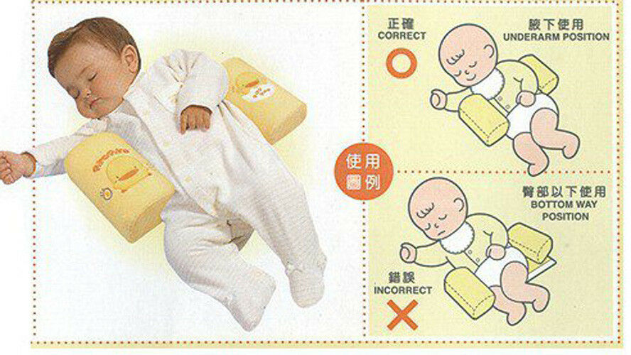 1x Baby Infant Sleep Pillow Positioner Newborn Prevent