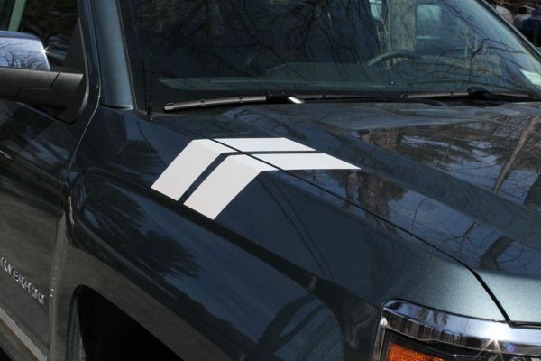 Fender Hash Mark Graphics - 2014 2015 Silverado 1500 | eBay