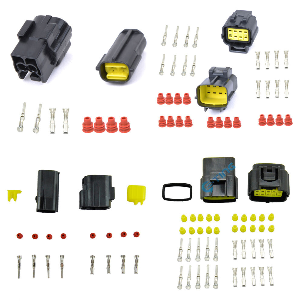 Pin way car mm waterproof auto electrical