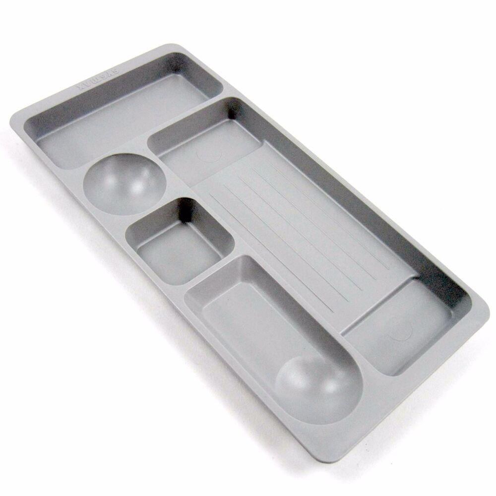 New Gray Desk Drawer Organizer Tray Pen Trays Office