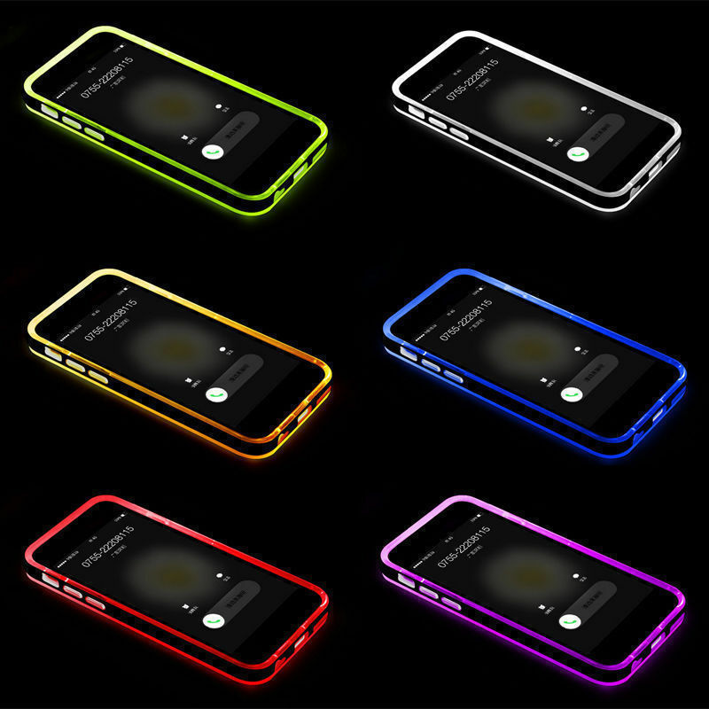 Tpu Shockproof Incoming Call Led Flash Blink Case For