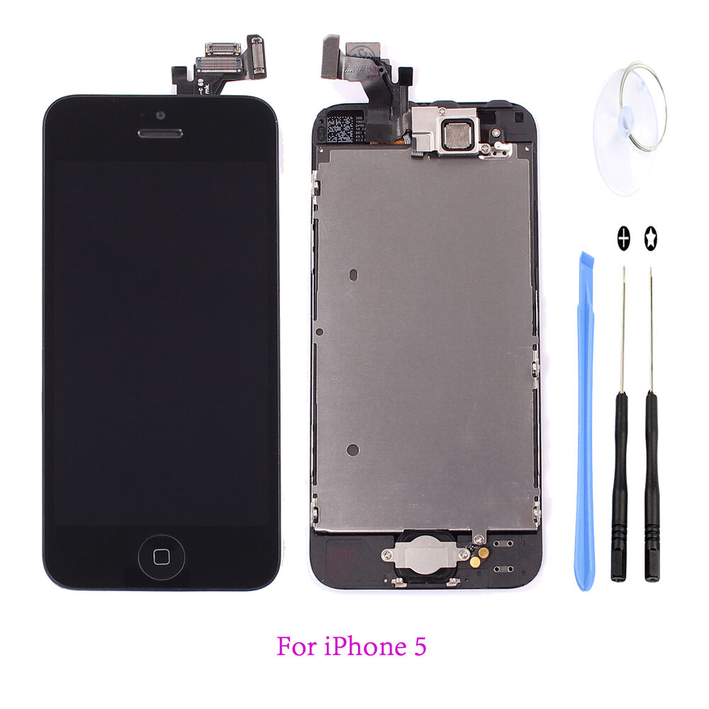 how much to replace iphone 5 screen black lcd display touch digitizer screen assembly 19802