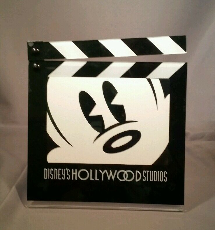 DISNEY PARKS HOLLYWOOD STUDIOS PLASTIC CLAPBOARD PICTURE ...