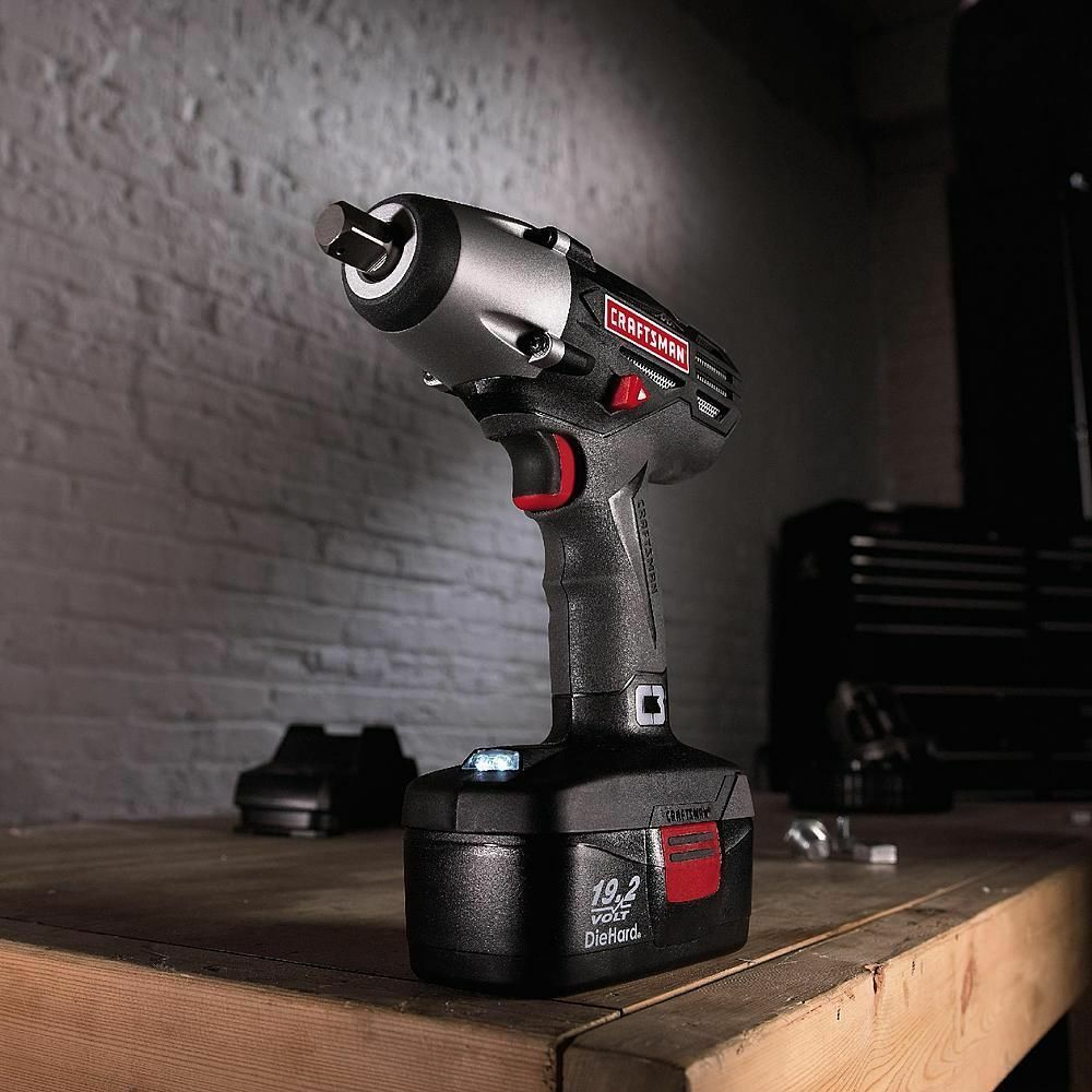 Craftsman impact wrench 19 2 volt cordless torque power for Who makes power craft tools