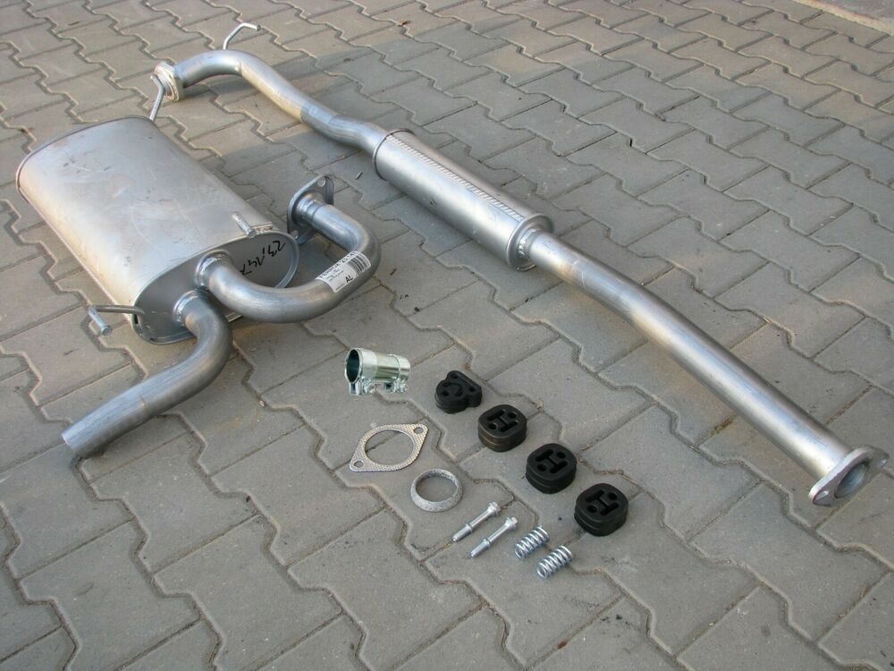 Nissan X-Trail 2.2 dCi TD 09/2003-12/2006 exhaust system ...