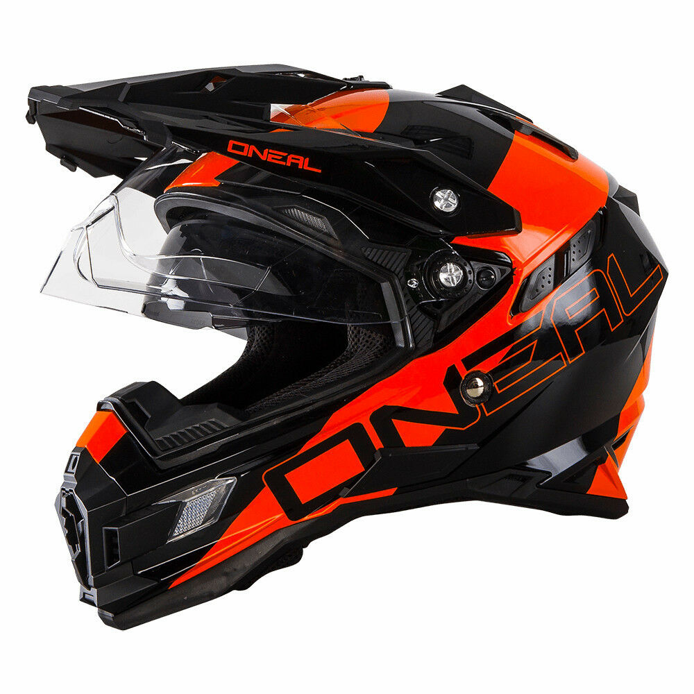o neal sierra adventure motocross helmet orange off road. Black Bedroom Furniture Sets. Home Design Ideas