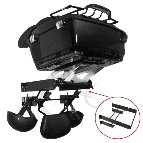 Brand New Wall Mount Tour Pak Trunk Storage Rack For