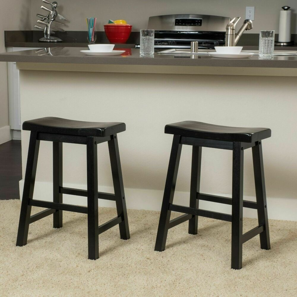 Denise Austin Home Toluca Saddle Wood Counter Stool Set