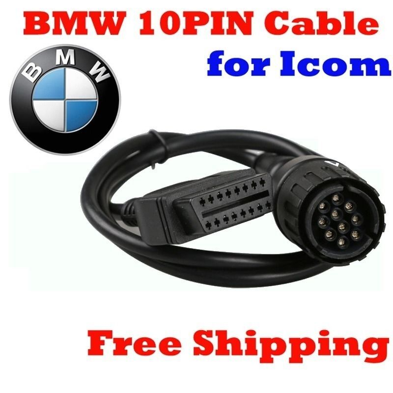 Obd2 For Bmw 10 Pin Icom D Cable Icom D Motorcycles