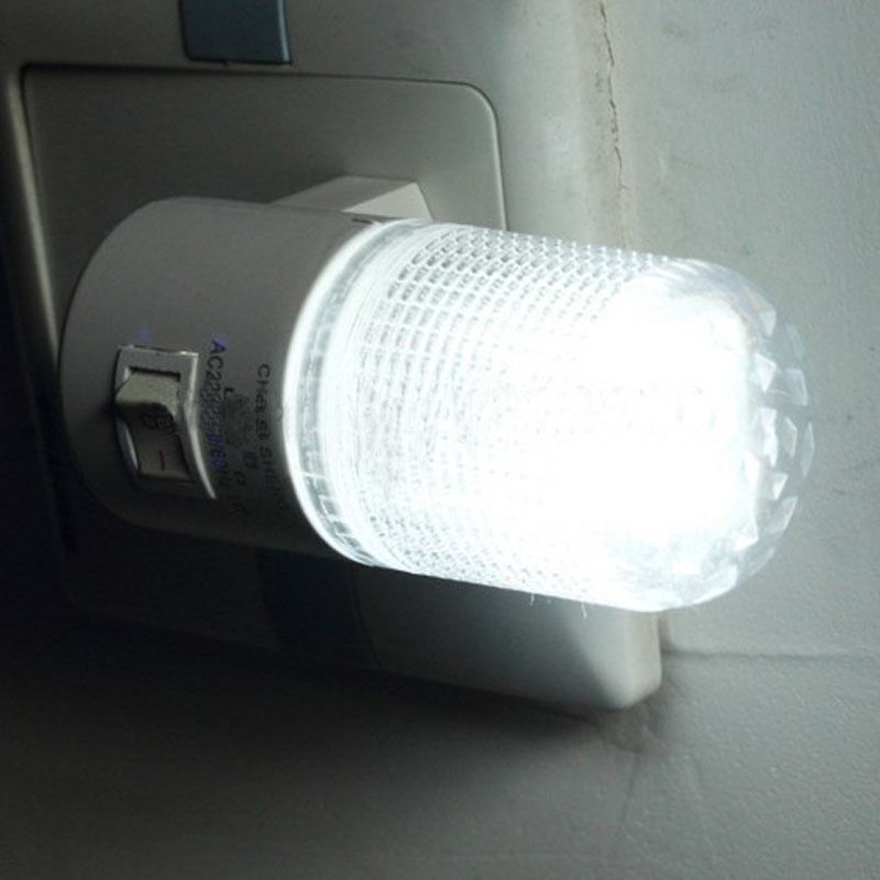 Small Night Light Led Plug In Lamp Energy Saving Bed