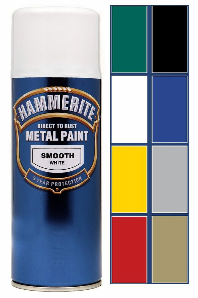 hammerite direct to rust spray aerosol paint cans protects. Black Bedroom Furniture Sets. Home Design Ideas