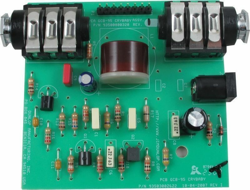 Gcb 95 Wah : dunlop crybaby wah gcb 95 replacement pcb circuit board with red fasel inductor ebay ~ Russianpoet.info Haus und Dekorationen