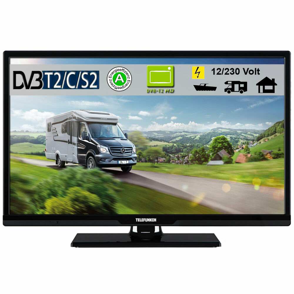 telefunken l24h27k4v led tv fernseher 24 zoll dvb s s2 t2. Black Bedroom Furniture Sets. Home Design Ideas
