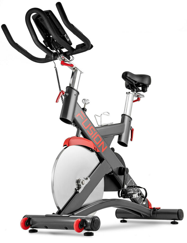 hop sport indoor cycle hs 075ic indoorcycling heimtrainer fitness bike speedbike ebay. Black Bedroom Furniture Sets. Home Design Ideas