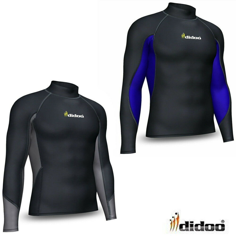 Mens Thermal Base Layer Compression Top Long Sleeve Body
