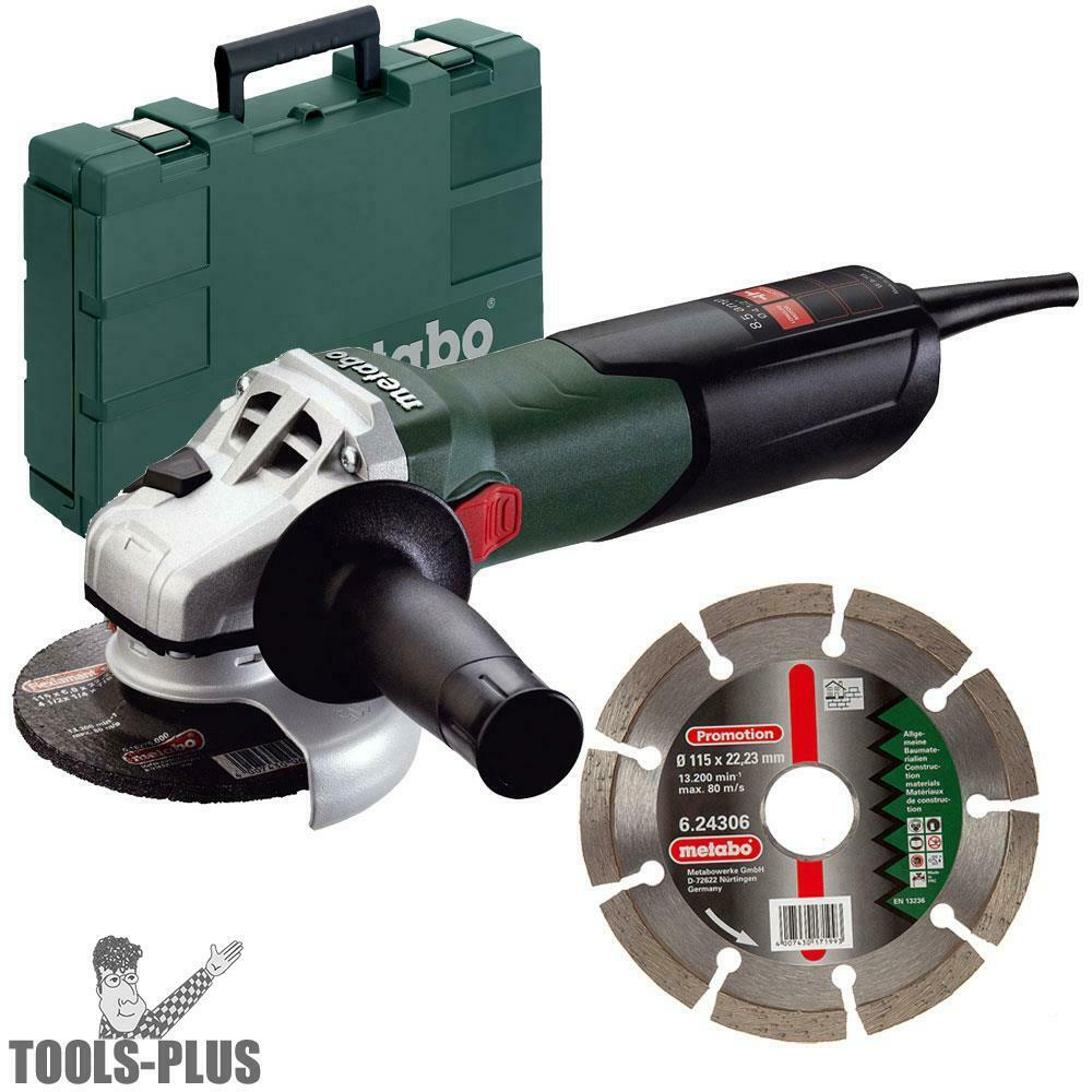 4 1 2 Quot 8 5amp Angle Grinder W Case And Diamond Wheel