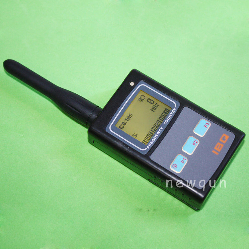 How A Frequency Counter Works : Portable hand held frequency counter ibq for two way