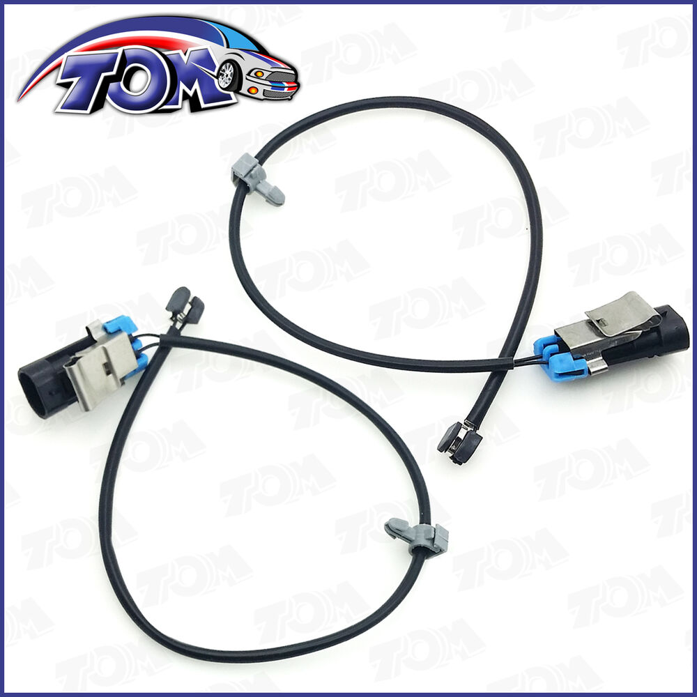 BRAND NEW FRONT BRAKE PAD WEAR SENSORS FOR CADILLAC