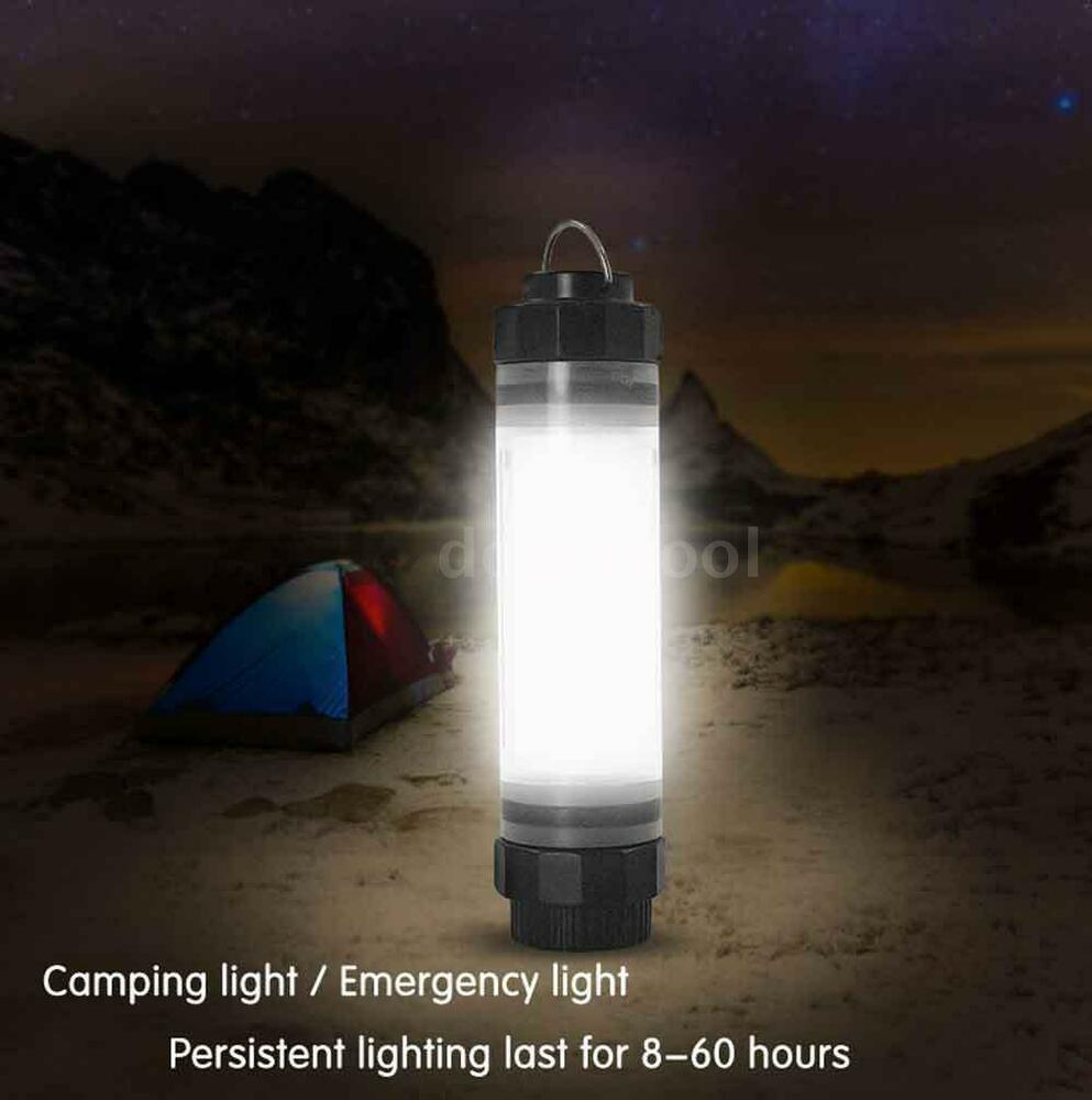 Rechargeable LED Tent Camping Light Outdoor Travel Power ...