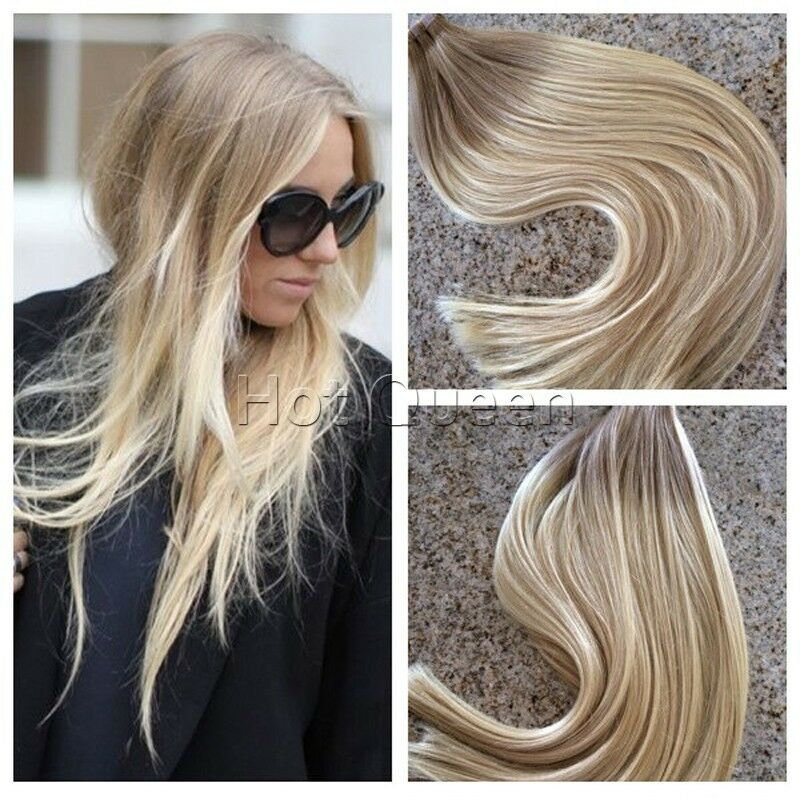 6a brazilian blonde remy tape in human hair extensions. Black Bedroom Furniture Sets. Home Design Ideas