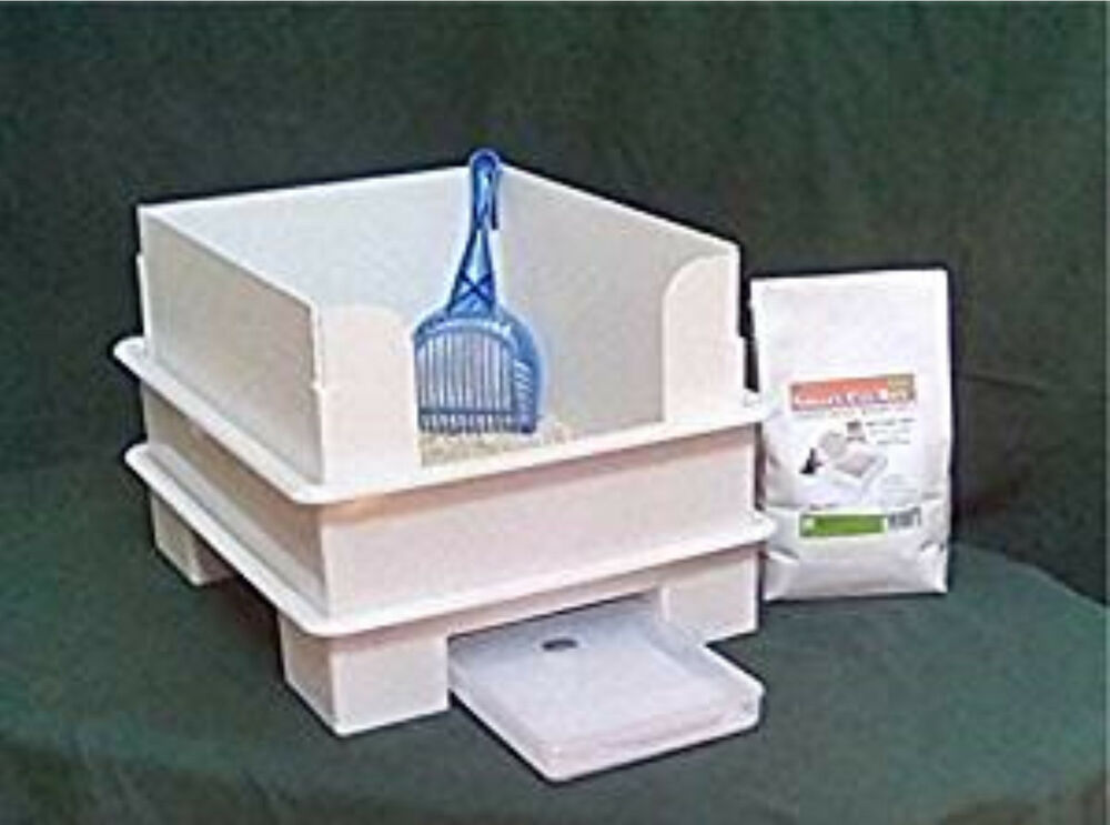 Smart Cat Box Value Pack Cat Litter Box Does Not Use