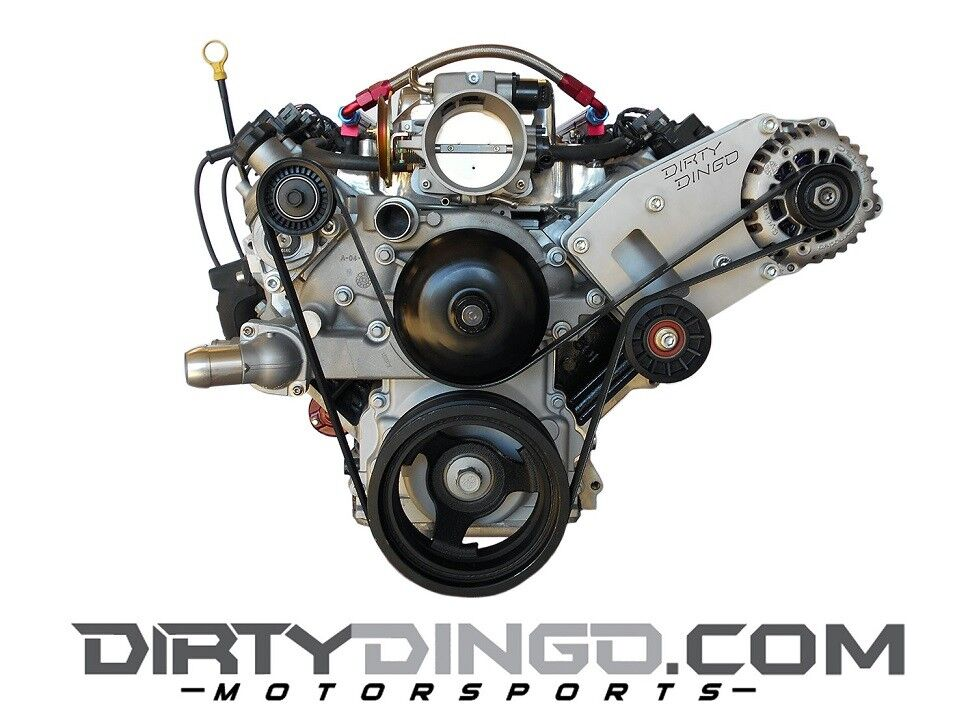 Dirty Dingo Billet Alternator Bracket Gm Lsx 1999
