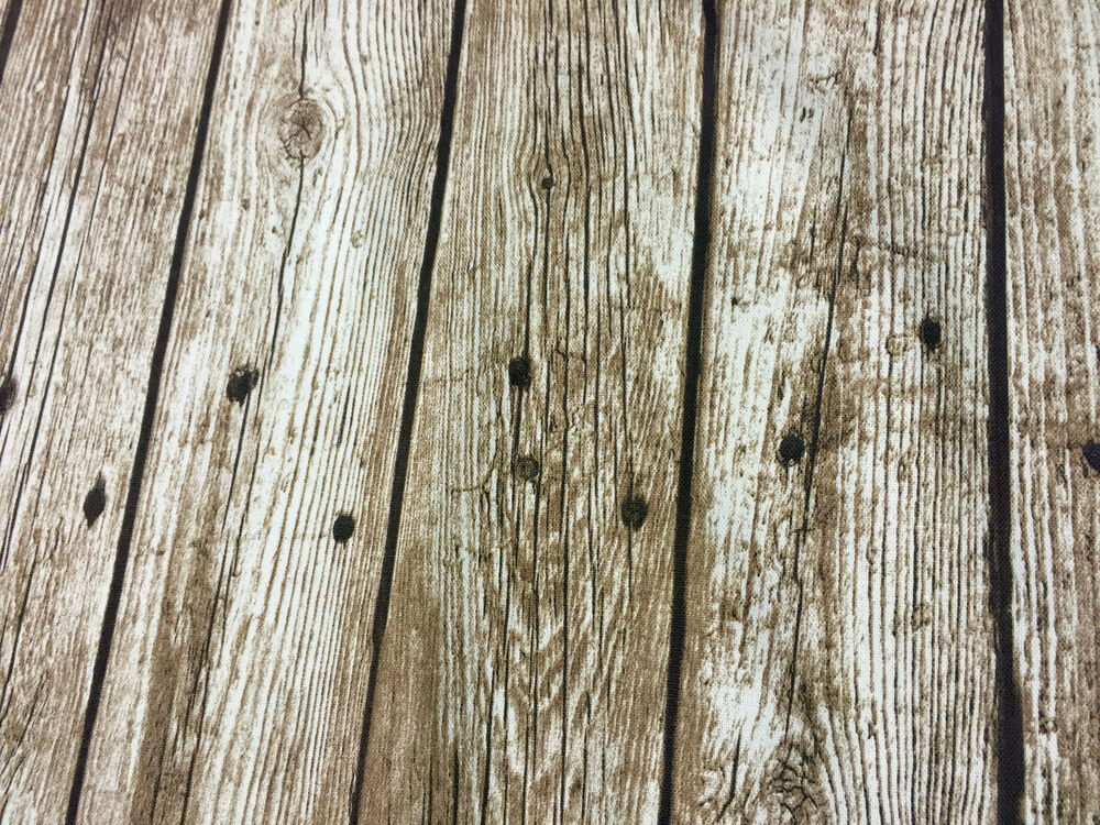Floorboard Wood Plank Curtain Upholstery Fabric Material