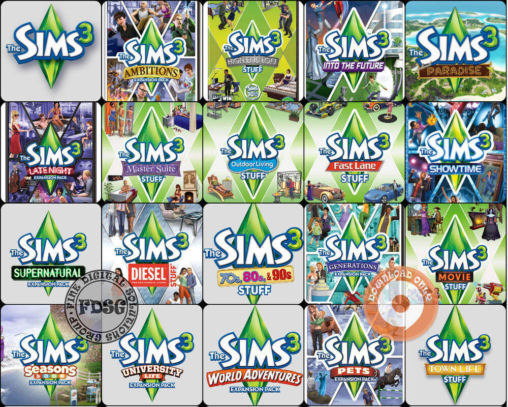 Get Up To 70% Off The Sims 3 Game And All Packs Now!