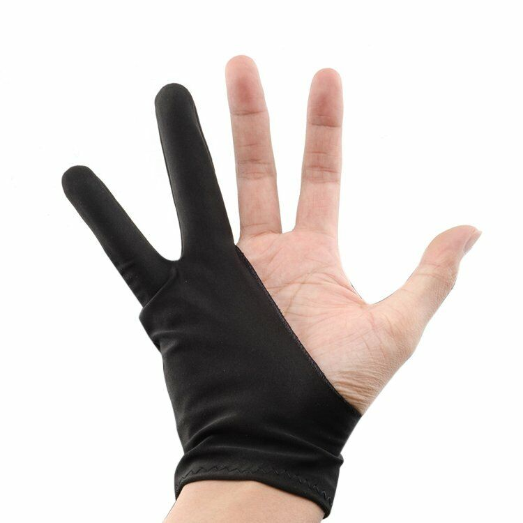 Professional Free Size Artist Drawing Glove For Huion Graphic Tablet