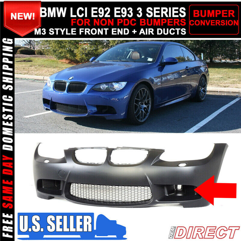07-10 BMW E92 E93 3 Series M3 Style Front End Conversion
