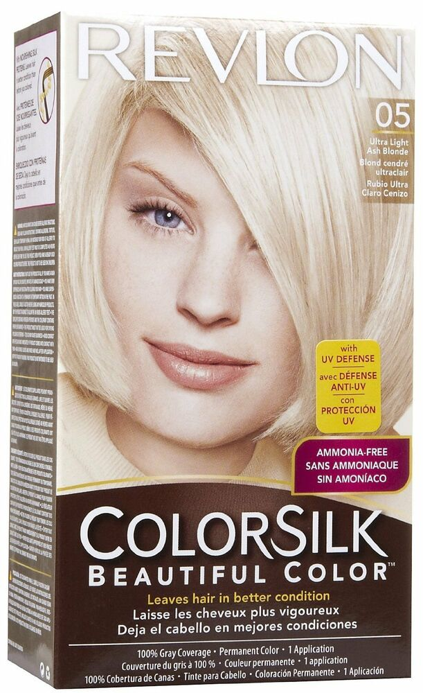 Colorsilk By Revlon Beautiful Hair Color Ultra Light Ash
