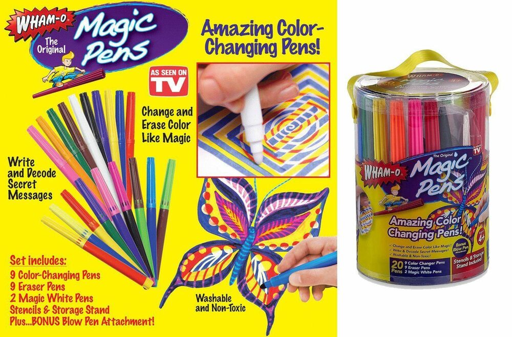 Magic Color Changing Markers
