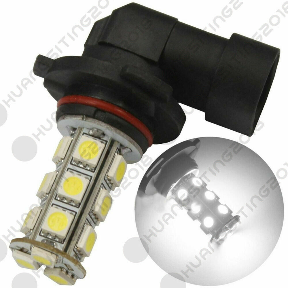 2 X 9006 HB4 6000K Xenon 18 SMD LED White Car Fog Light