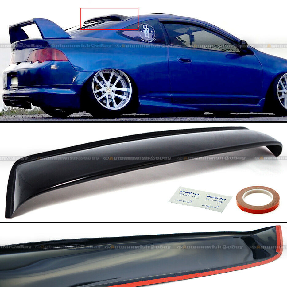 Fit 02 06 Rsx Rear Window Roof Visor Vent Wing Spoiler Ebay