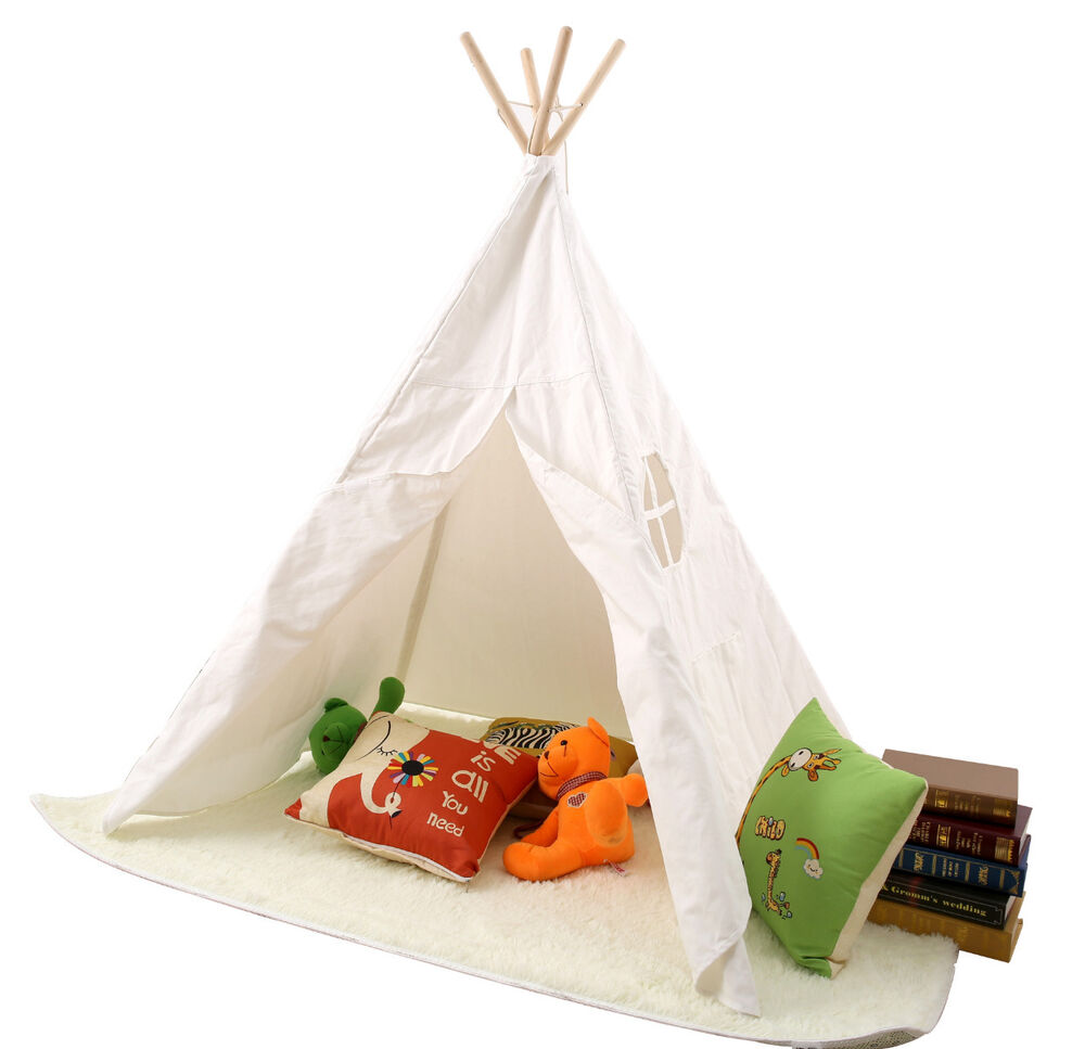 Children Kids Tepee Teepee Tipi Play Tent Playhouse Indoor